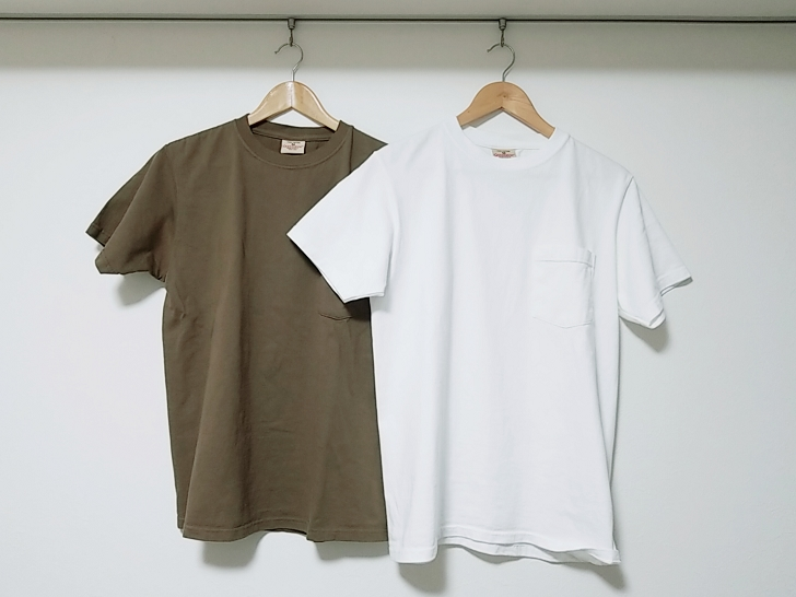 Goodwear(グッドウェア)のホワイトとニューオリーブ