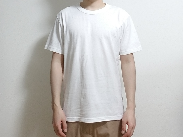 Uniqlo UのクルーネックTシャツ