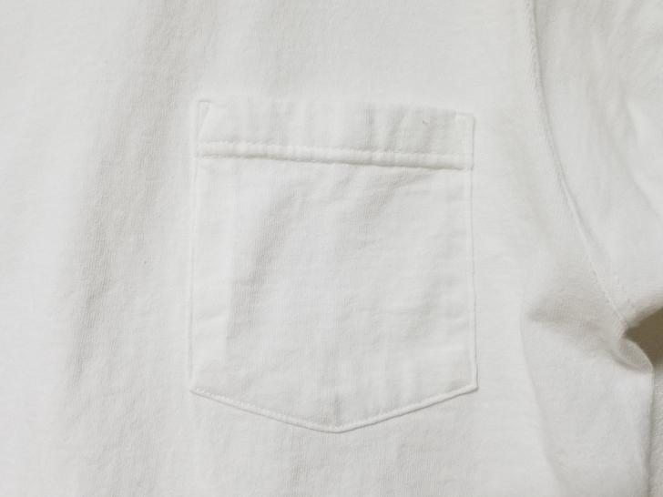GoodwearのTシャツの胸ポケット